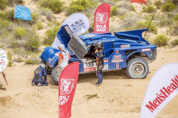 Le buggy SMG 2WD troisième de la catégorie T1 essence deux roues motrices !