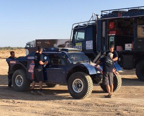 Oilibya du Maroc, un forfait mais des essais pour le buggy 2WD