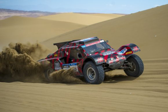 THE BUGGY TWO WHEELS DRIVE PARTICIPATES IN THE OLIBYA RALLY OF MOROCCO