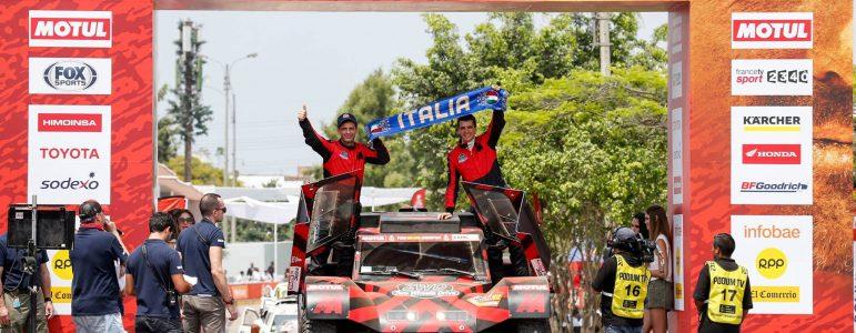 Eugenio Amos dans le top 20 Dakar pour la première fois !