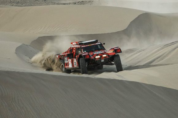 BAD LUCK FOR AMOS / DELAUNAY AND BUGGY 2WD