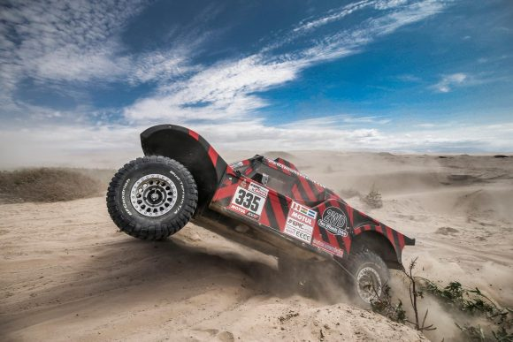 INCREDIBLE 5th PLACE FOR AMOS / DELAUNAY ON BUGGY 2WD