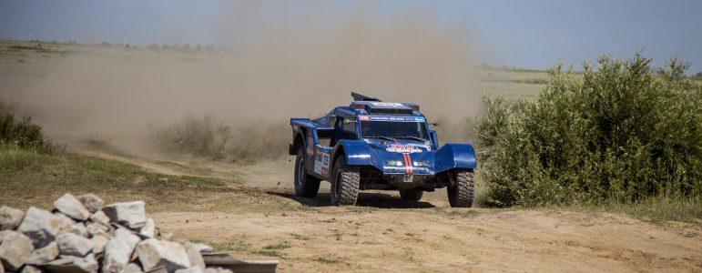 Un regal de pistes kazhakes au volant du buggy SMG 2WD !
