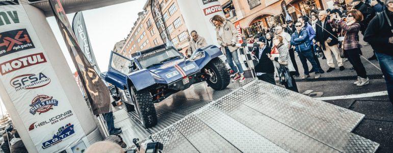 C'EST PARTI POUR L'ÉQUIPAGE MAGNALDI/BORSOTTO ET LE BUGGY 2WD !