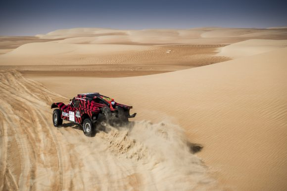 2nd place for the buggy 2WD at the SS4 of Abu Dhabi