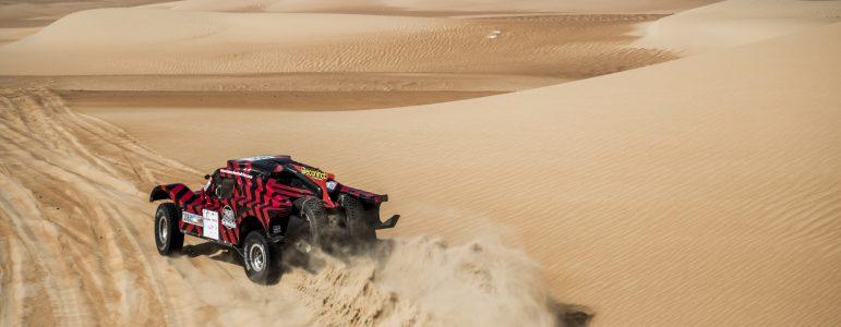 Deuxième place pour le buggy 2WD à la SS4 d'Abu Dhabi