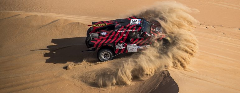 Victory and 4th place overall for Cyril Despres at the last stage at Abu Dhabi Desert Challenge