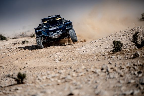 Qatar cross country rally : SS4 and SS5