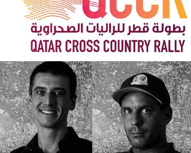 Départ pour le rally du Qatar 2019